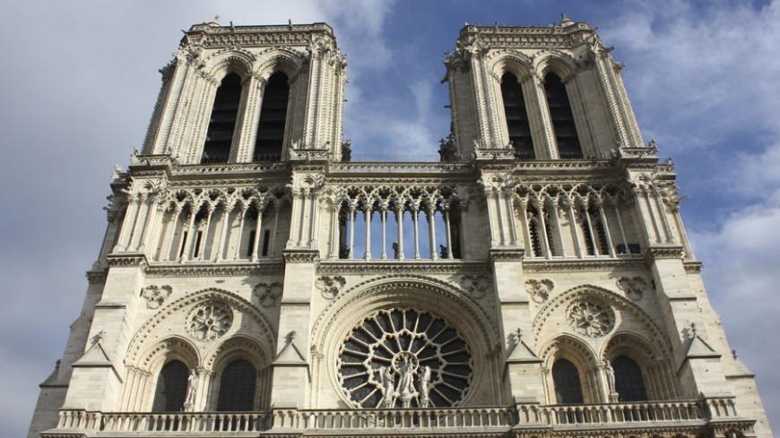 Париж © Фото: Елена Карташова, «Мир 24», собор парижской богоматери, париж, нотр-дам-де-пари