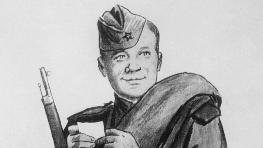 картинка солдата героя в поэме делать фокусировку