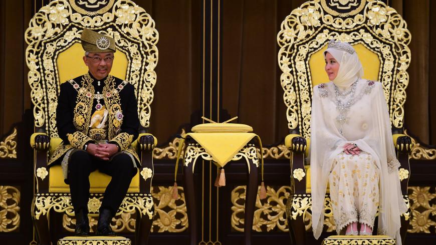 Король Малайзии и его супруга отправились на карантин