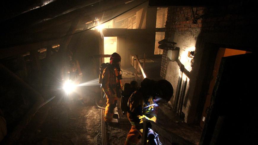 В Москве загорелось общежитие МГУПП