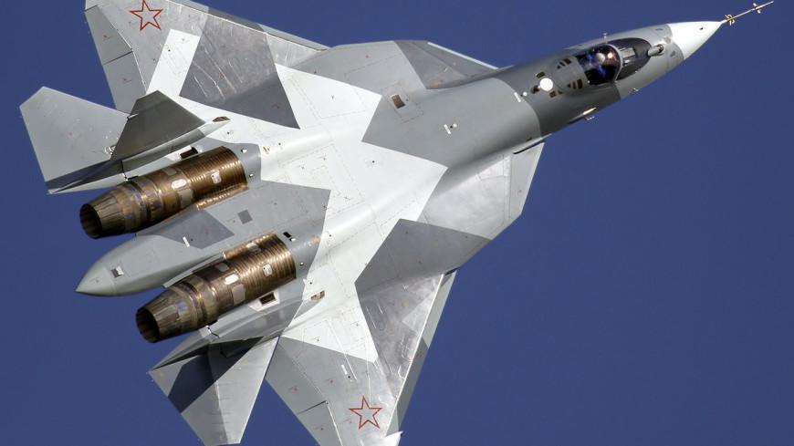 Минобороны показало видео полетов Су-57 на предельных скоростях
