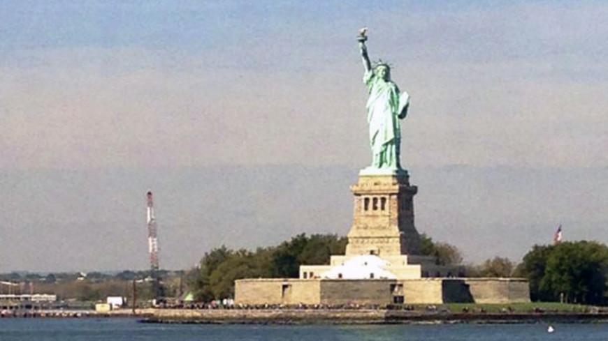 """© Фото: Дмитрий Альшин / """"«МИР 24»"""":http://mir24.tv/, свободы статуя, сша, нью-йорк"""