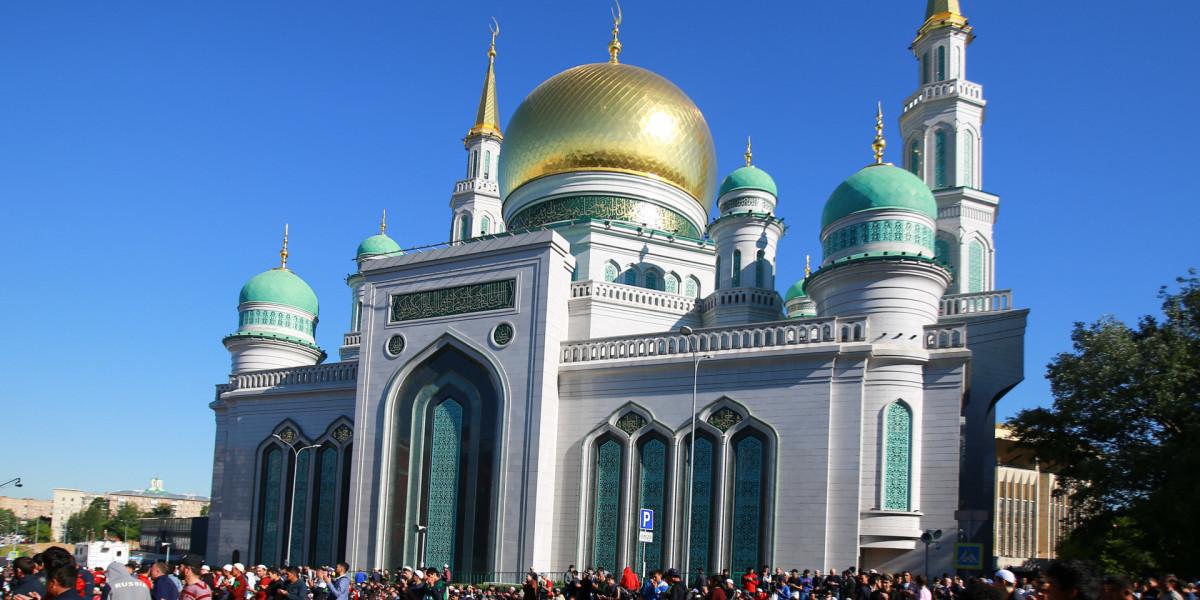 Московская соборная мечеть откроется 1 июня