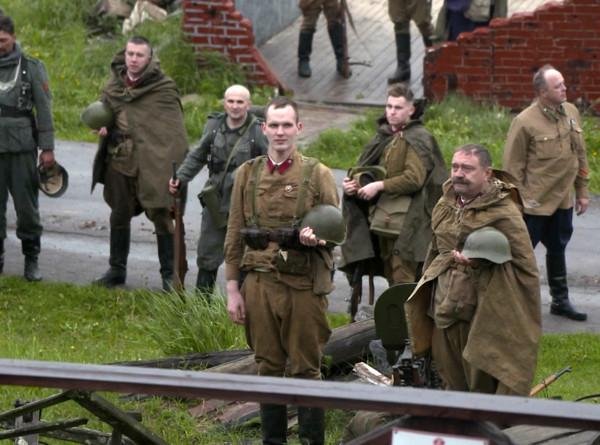 На «Линии Сталина» в Беларуси провели реконструкцию битвы за погранзаставу
