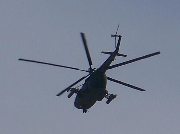 Появились первые кадры с места катастрофы Ми-8 в Анадыре