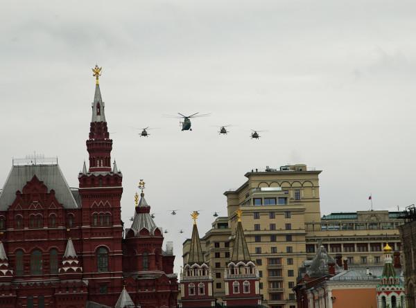В Москве прошел воздушный парад в честь 75-летия Победы (ФОТО)