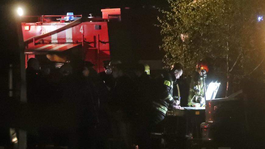 Пожар в красногорском хосписе мог произойти из-за неисправной электропроводки