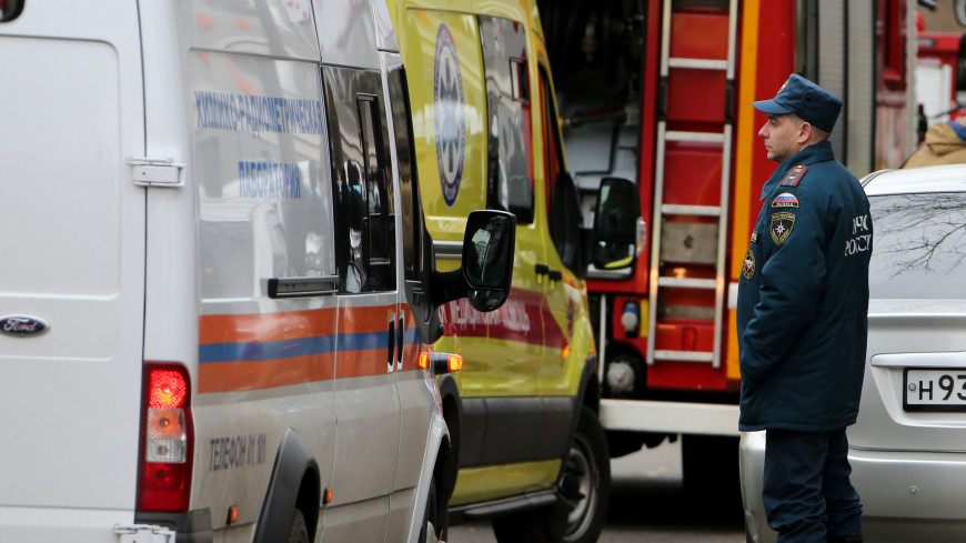 Появилось видео обрушения перекрытий в доме на шоссе Энтузиастов
