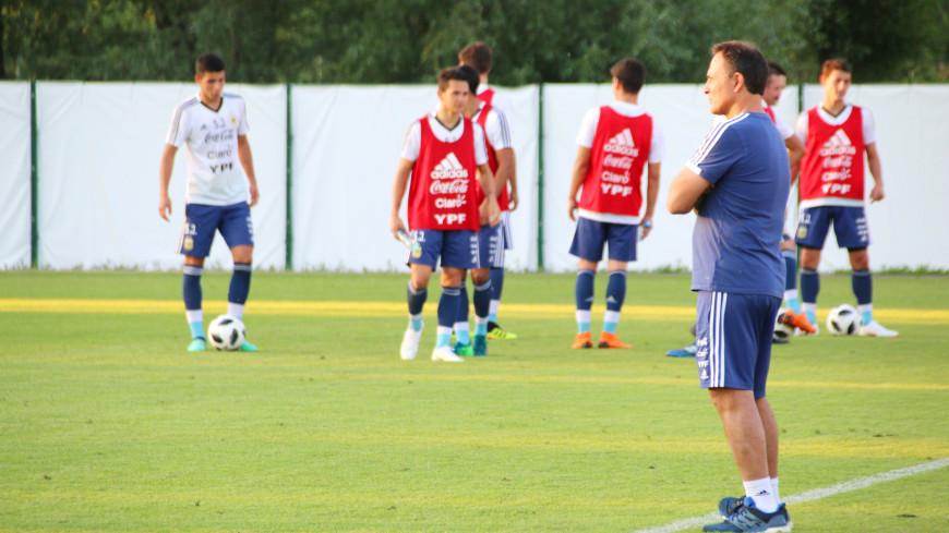 Открытая тренировка сборной Аргентины в Бронницах