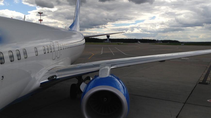 У самолета в Шереметьеве загорелась вспомогательная силовая установка