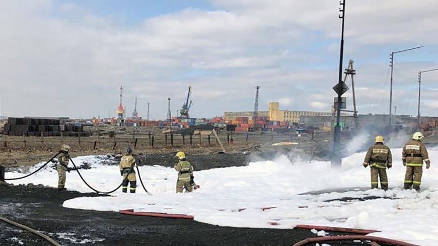 В Норильске после пожара на ТЭЦ разлилось 20 тысяч тонн нефти: начата проверка