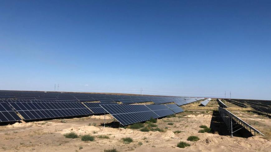 Солнечную электростанцию мощностью 100 МВт открыли в Казахстане
