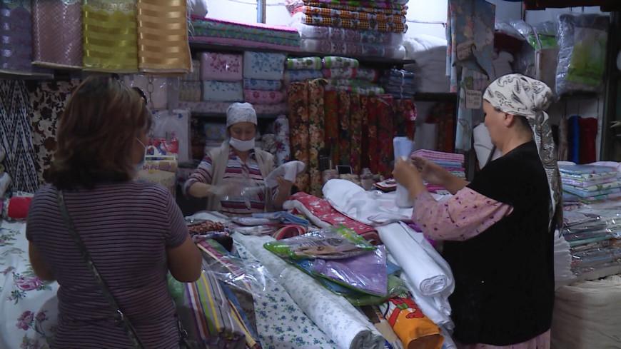 В Бишкеке заработали вещевые рынки