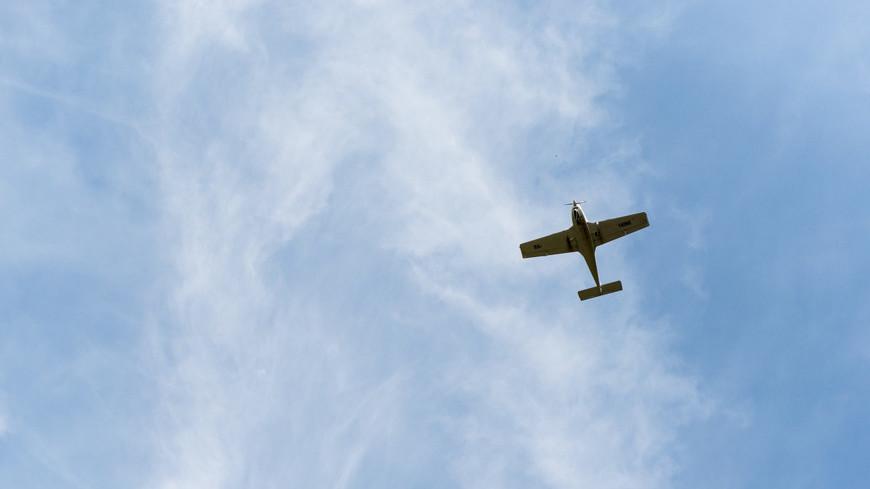 В Нижегородской области во время учебного полета загорелся легкомоторный самолет