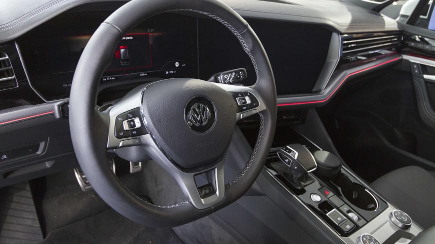 В России отзывают кроссоверы Volkswagen Touareg