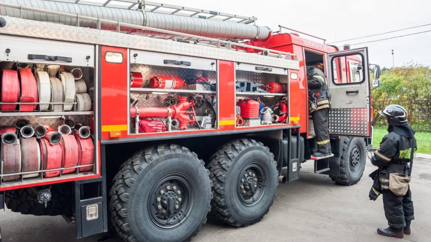 В Норильске машина врезалась в бак с топливом на ТЭЦ-3 и вызвала пожар