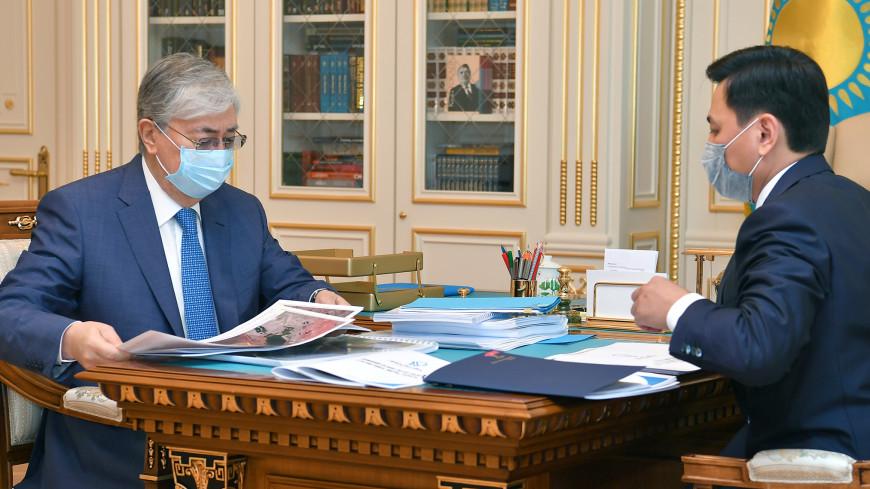 Токаев поручил активизировать работу строительного сектора в Нур-Султане