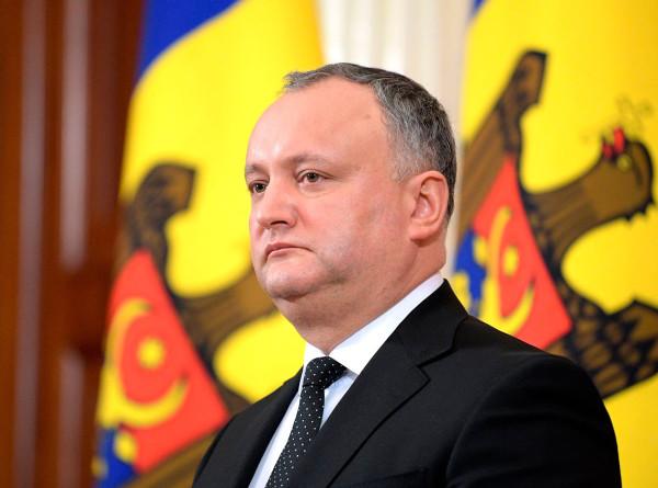 Додон объявил дату инаугурации нового президента Молдовы