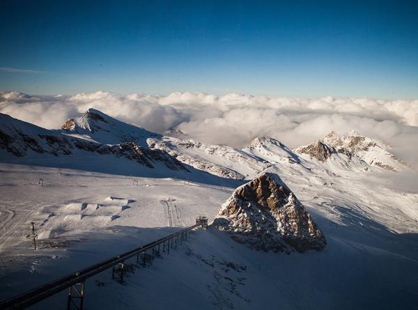 Горные породы указали на скорость роста Альп