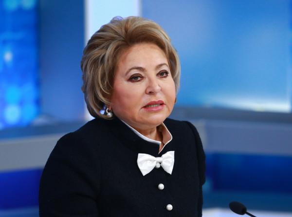 Матвиенко: Россия и Таджикистан остаются стратегическими партнерами