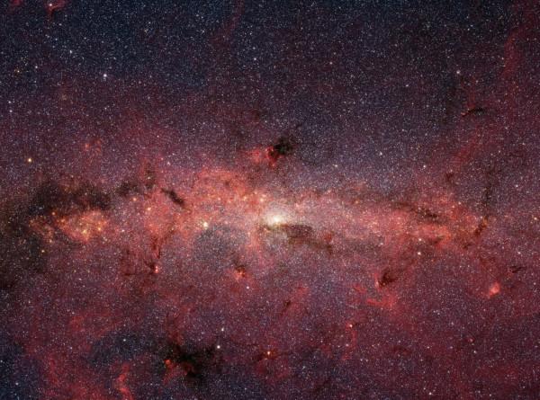Вокруг Млечного Пути заметили необъяснимое свечение