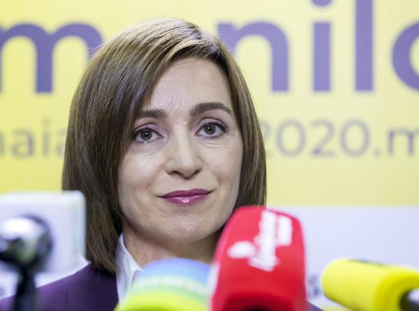 Майя Санду рассказала о приоритетах на посту президента Молдовы