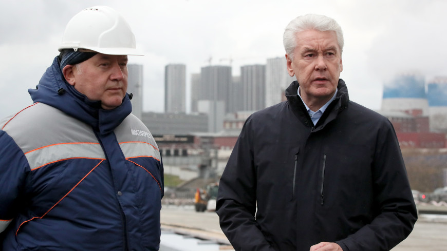Собянин: строительство Юго-Восточной хорды в Москве завершено на треть