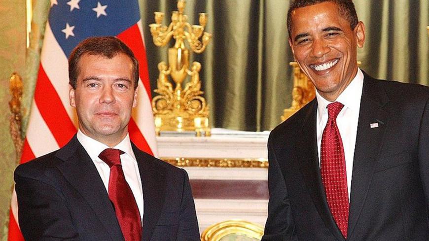 """Фото: """"Пресс-служба Президента РФ"""":http://kremlin.ru/, обама и медведев, обама, медведев"""