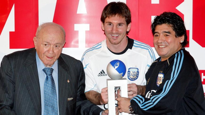 Месси назвал день смерти Марадоны очень печальным для всех аргентинцев и для футбола