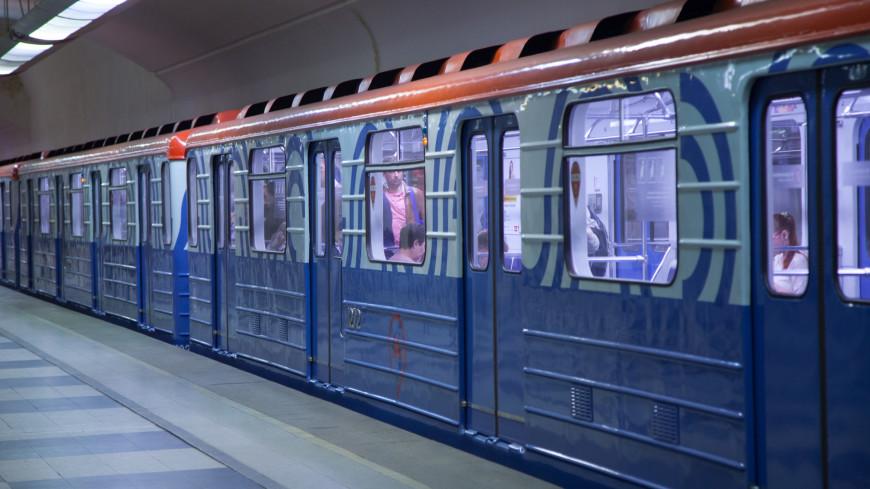 В московском метро задымился поезд