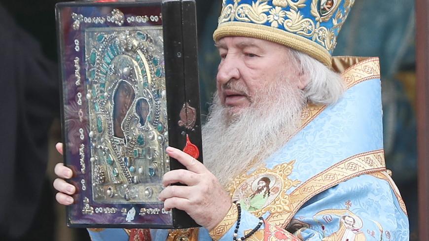 В Казани простились с митрополитом Феофаном