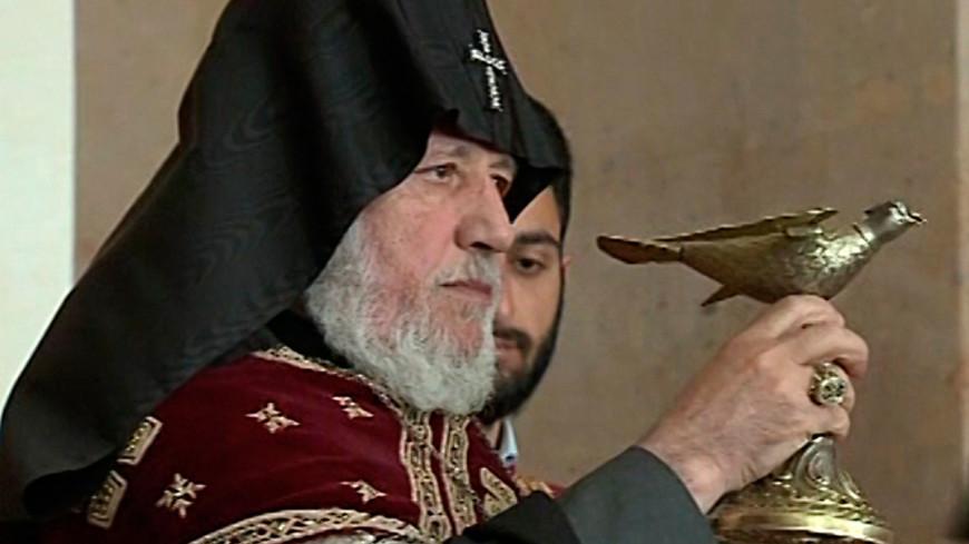 """Скриншот: """"«МИР 24»"""":http://mir24.tv/, католикос, гарегин"""