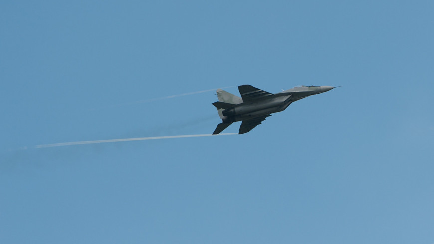 Индийский военный истребитель МиГ-29К упал в Аравийское море