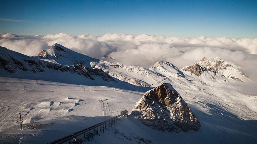"""Фото: Елизавета Шагалова, """"«МИР 24»"""":http://mir24.tv/, горнолыжный курорт, горы, альпы"""