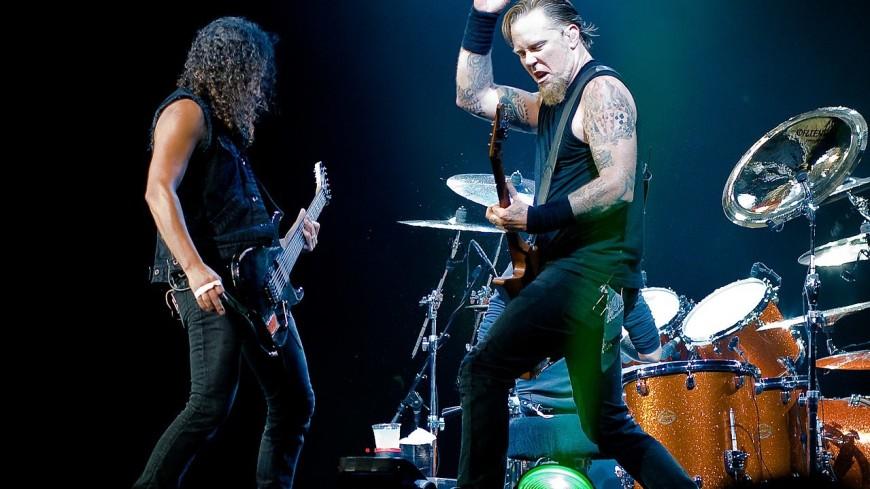 Metallica уже несколько недель работает над новым альбомом