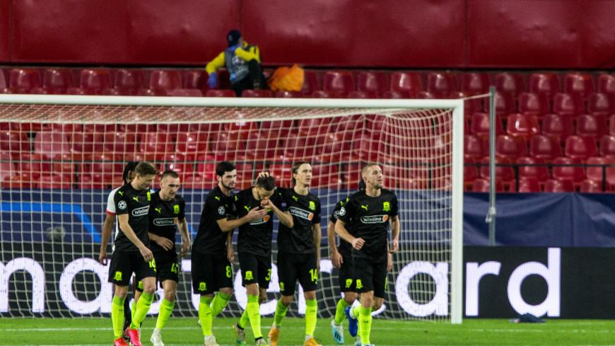 Гол «Краснодара» претендует на звание лучшего в туре Лиги чемпионов (ВИДЕО)