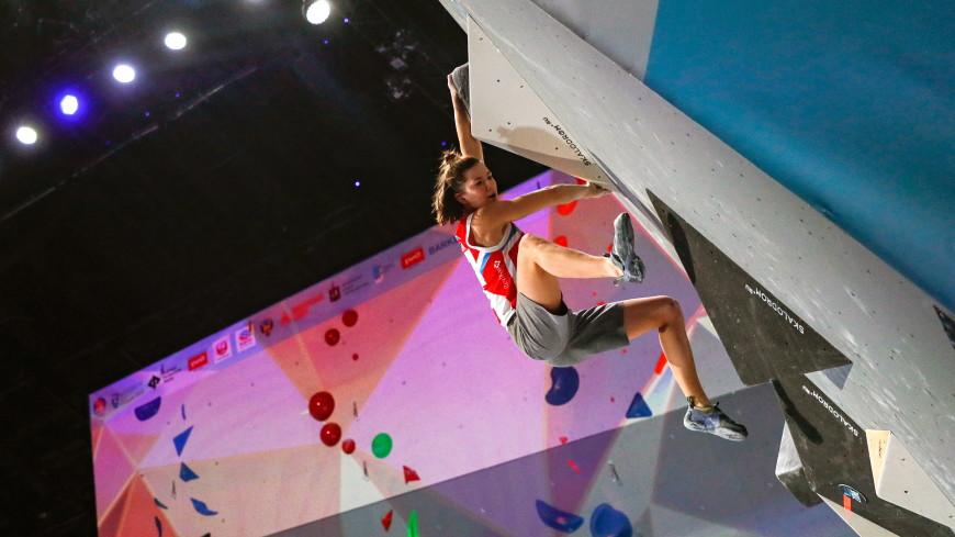 Россиянка Мешкова завоевала золото в «боулдеринге» на чемпионате Европы по скалолазанию