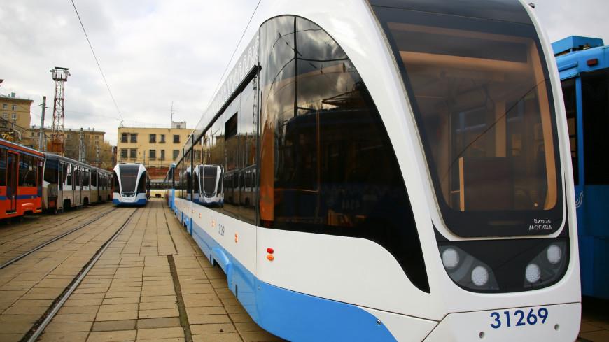 Восстановлено движение трамваев на пересечении Ростокинского проезда и Богородского шоссе