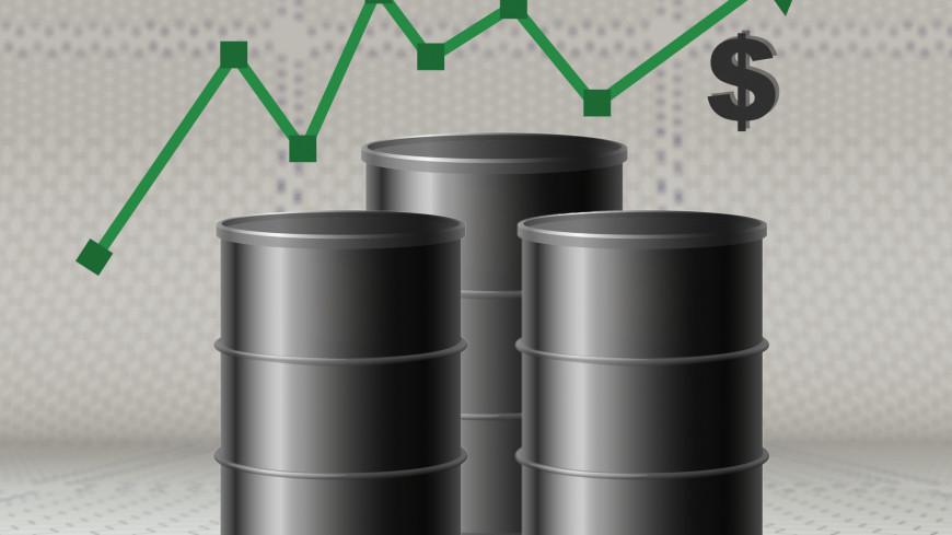 Цена нефти Brent на бирже в Лондоне выросла на 10%