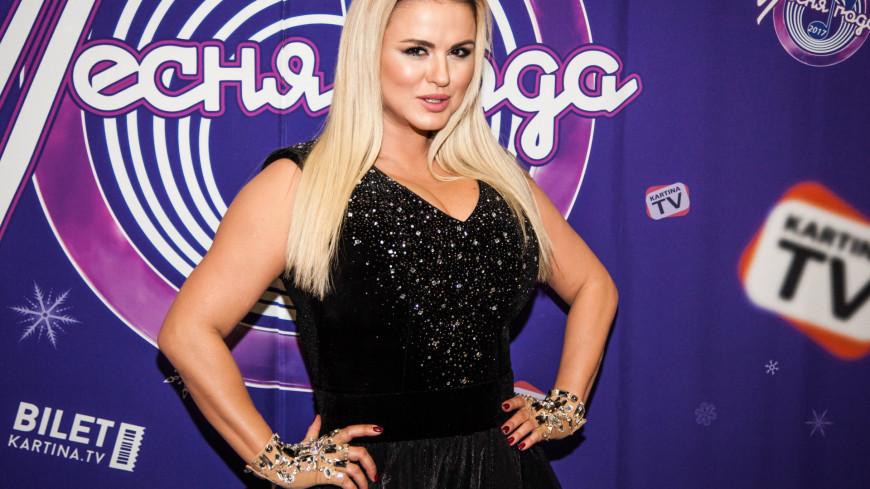 Участник фестиваля Песня года 2017 певица Анна Семенович