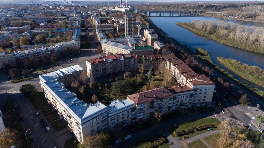 В Кемерове покраснела река. Причина уже установлена (ФОТО)