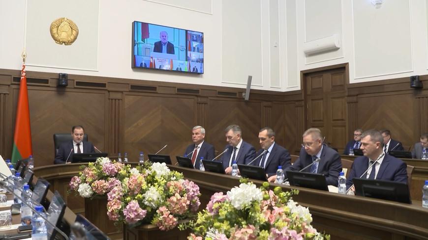 В Минске обсудили экономическое развитие Беларуси