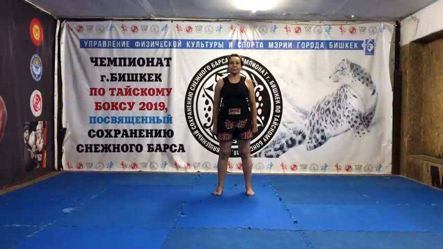 Мама чемпионки UFC из Кыргызстана выиграла турнир по тайскому боксу