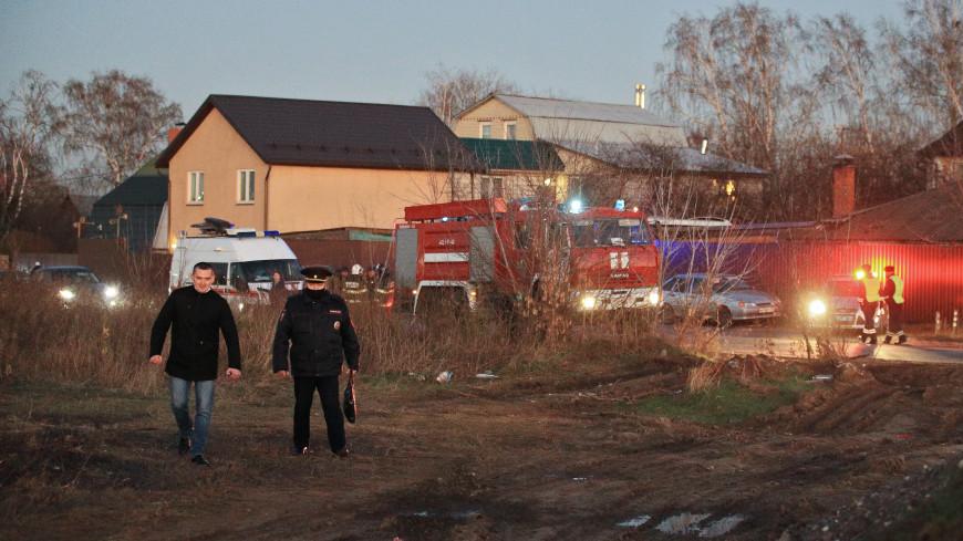 После крушения самолета в Подмосковье возбуждено уголовное дело