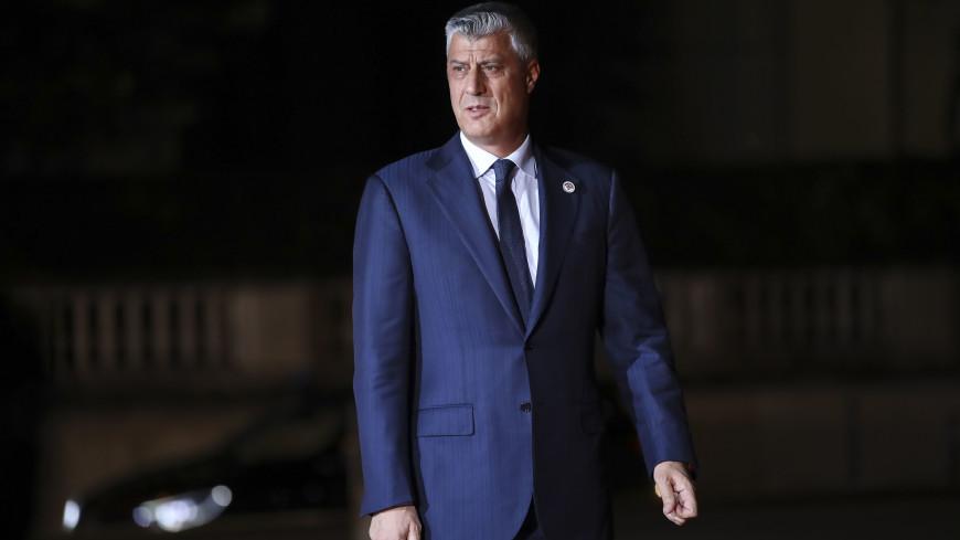 Президент непризнанной республики Косово Хашим Тачи ушел в отставку