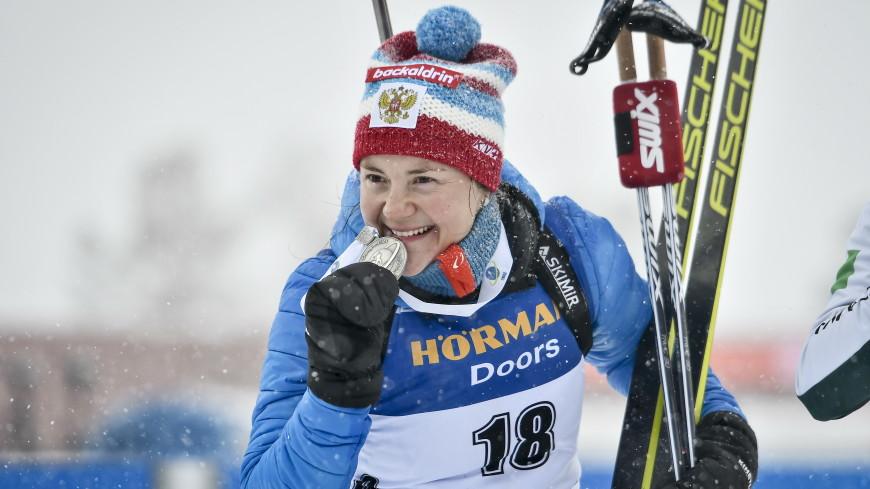 Биатлонистка Юрлова-Перхт пропустит соревнования из-за беременности