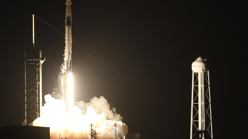 Корабль Crew Dragon пристыковался к МКС