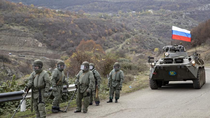 Минобороны РФ: Режим прекращения огня соблюдается по всей линии соприкосновения в Карабахе