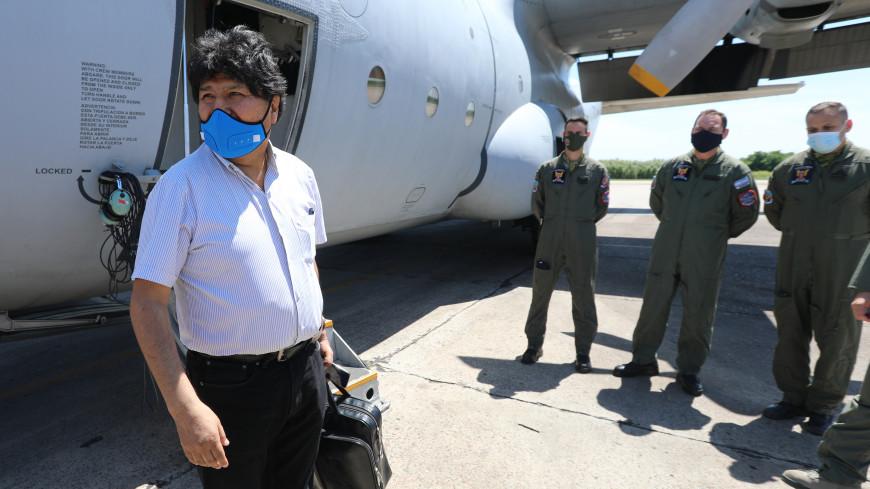 Эво Моралес вернулся в Боливию