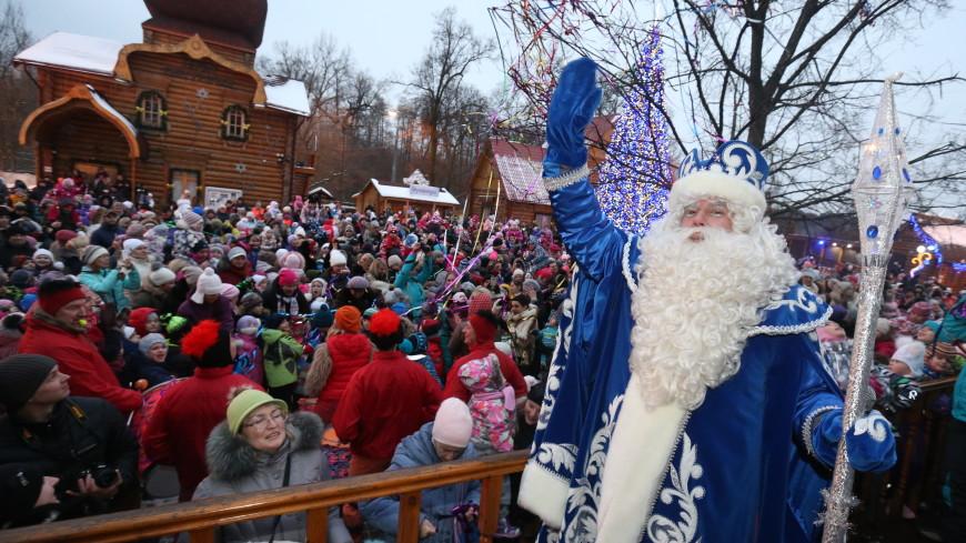 Усадьбу Деда Мороза в московских Кузьминках украсят герои популярных сказок